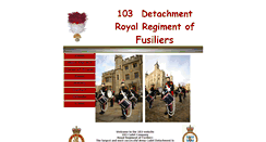 Preview of 103fusiliers.co.uk